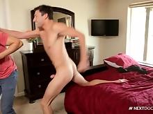 Free NextDoorWorld gay porn video