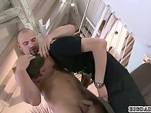 Free BigDaddy gay porn video
